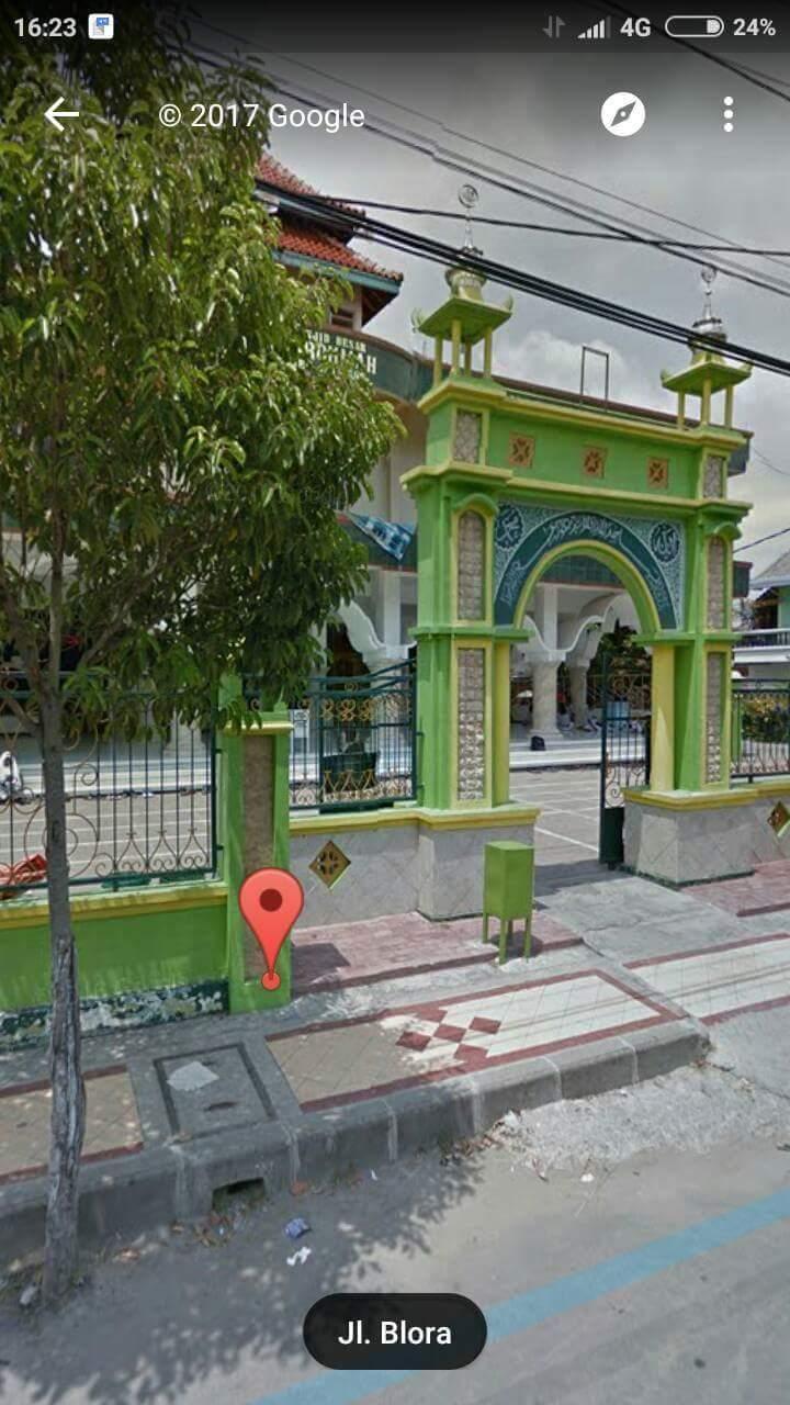 GStreet 2014 Jatirogo Tuban Jalan Blora Masjid Arrahmah-2