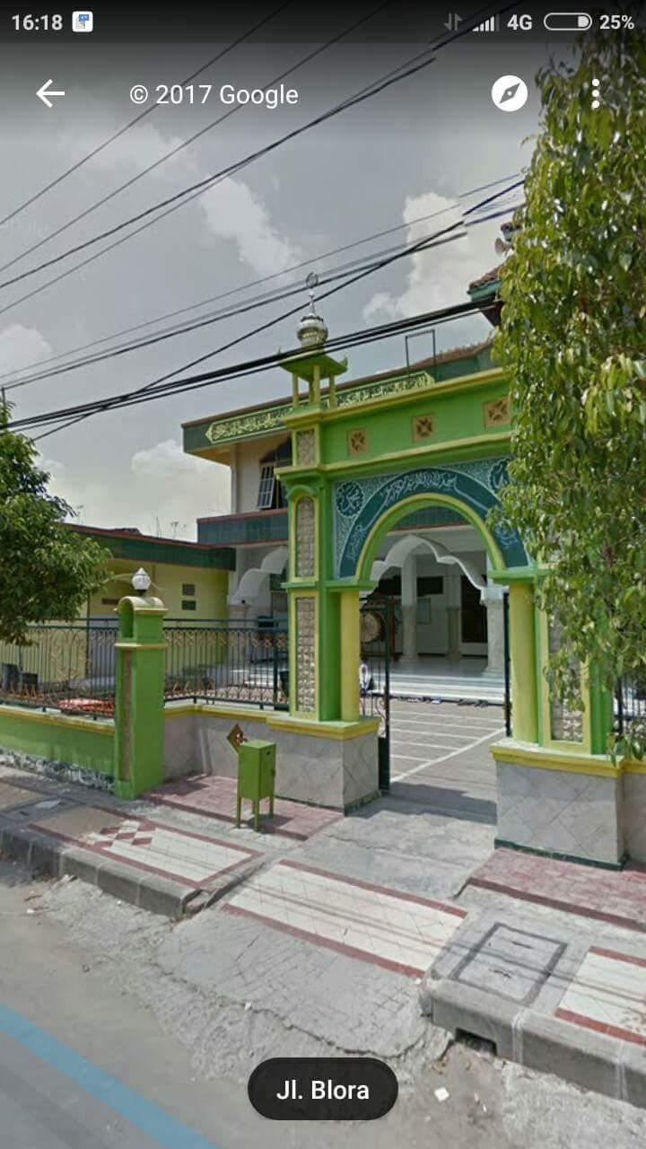 GStreet 2014 Jatirogo Tuban Jalan Blora Masjid Arrahmah